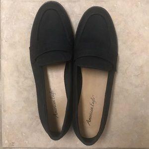 Black suede dress shoes